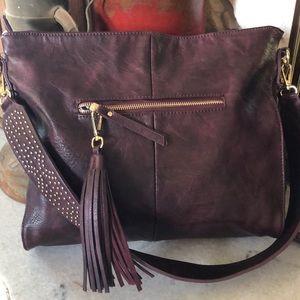 MMS designer handbag with a bling strap
